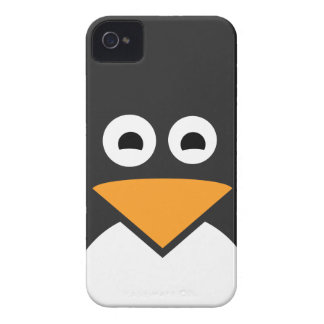 Penguin Face iPhone 4 Cover