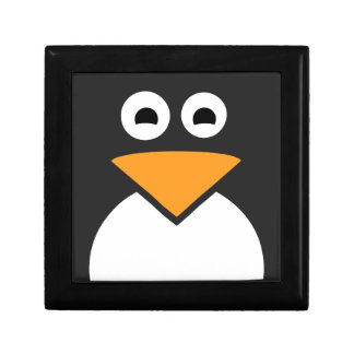 Penguin Face Jewelry Box