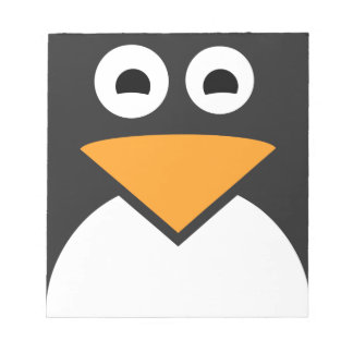 Penguin Face Notepad