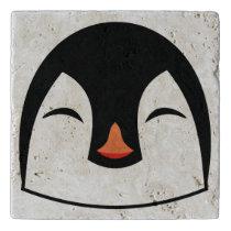 Penguin Face Trivet