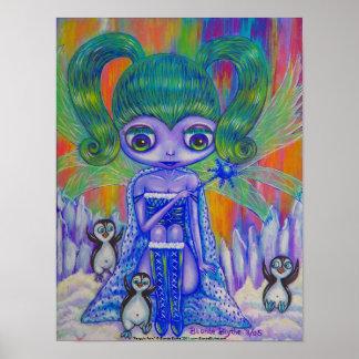 Penguin Fairy Poster