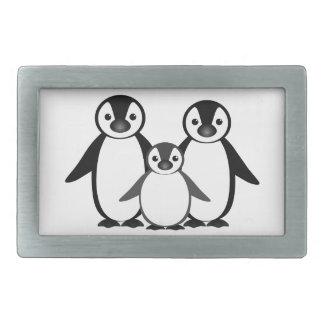 Penguin Family Belt Buckles