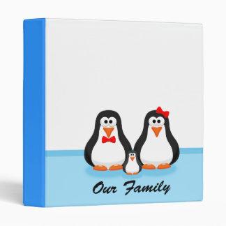 Penguin Family Binder