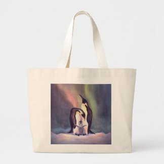 PENGUIN FAMILY by SHARON SHARPE Canvas Bags