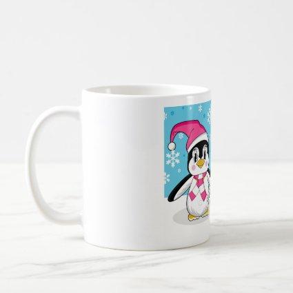 Penguin Family Coffee Mug mug