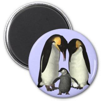 Penguin Family Magnet