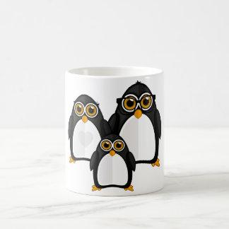 Penguin Family Classic White Coffee Mug