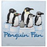 Penguin Fan Cloth Napkins