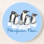 Penguin Fan Coaster