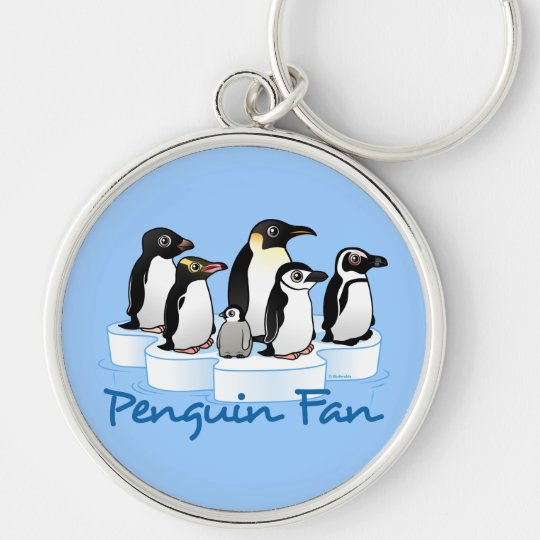 Penguin Fan Keychain