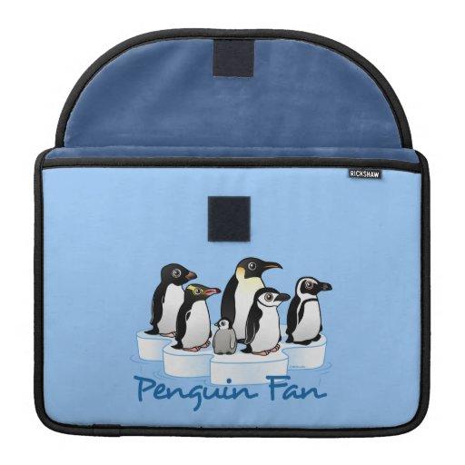 Penguin Fan MacBook Pro Sleeve