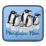 Penguin Fan MacBook Sleeves