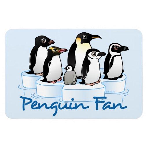 Penguin Fan Magnet