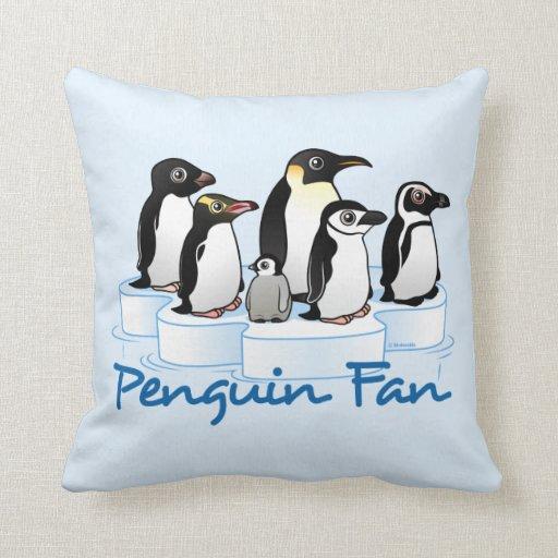 Penguin Fan Pillow