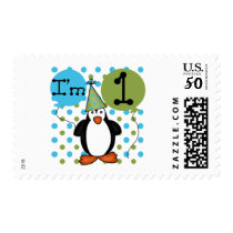 Penguin First Birthday Tshirts and Gifts Postage