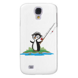 Penguin Fishing Galaxy S4 Cover