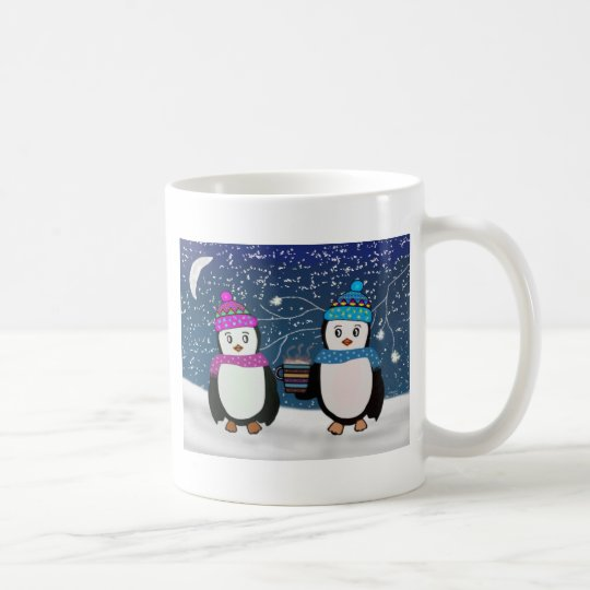 Penguin Friends Coffee Mug