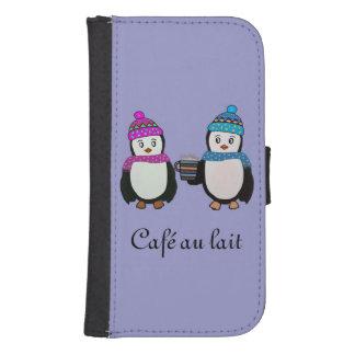Penguin Friends Galaxy S4 Wallet Case