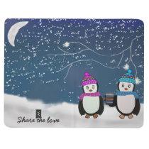 Penguin Friends Pocket Journal