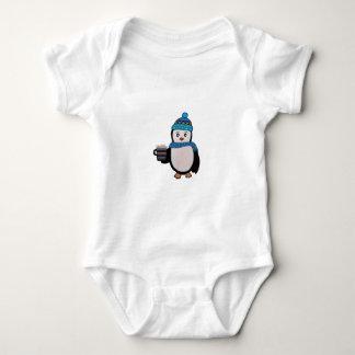 Penguin Friendship Baby Bodysuit