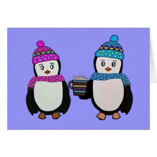 Penguin Friendship Card