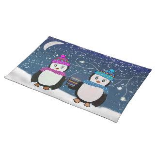 Penguin Friendship Cloth Placemat