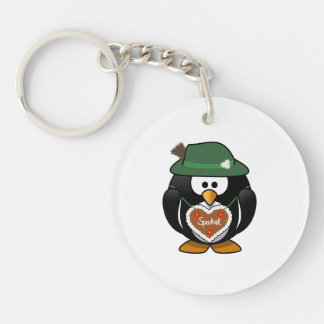 Penguin From Alps Keychain