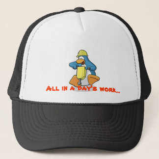 "Penguin Frost Official, ""All in a Day's Work"" Cap"
