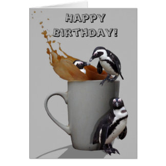 Penguin fun! card