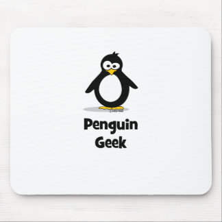 Penguin Geek Mouse Pad