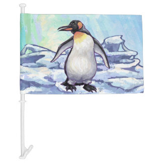Penguin Gifts & Accessories Car Flag
