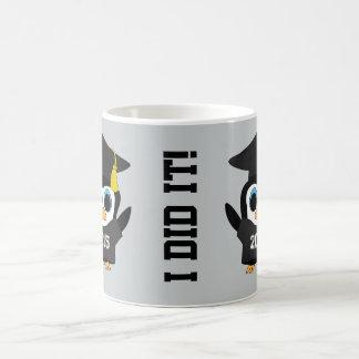 Penguin Grad Wearing Black & White 2015 Tee Coffee Mug