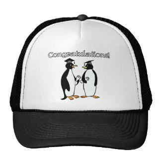 Penguin Graduates Trucker Hat