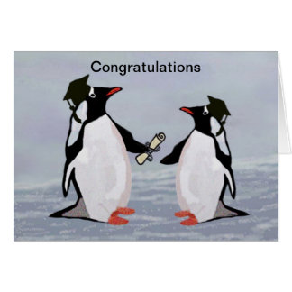 Penguin Graduation Cards