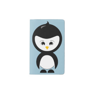 Penguin Graphic Moleskine Notebook Cover
