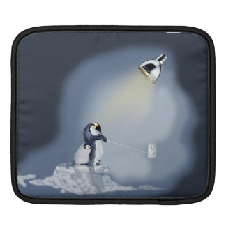 """Penguin """"Green House Effect """" Sleeve For iPads"""