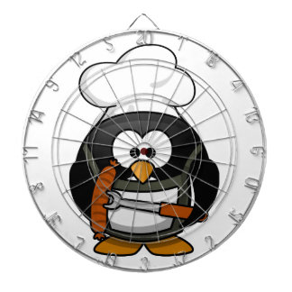 Penguin Grill Dartboard With Darts