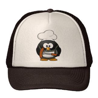Penguin Grill Trucker Hats