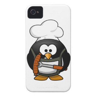 Penguin Grill iPhone 4 Case