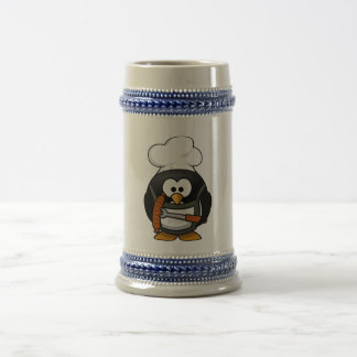 Penguin Grill 18 Oz Beer Stein