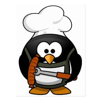 Penguin Grill Postcard