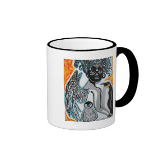 Penguin Guardian Art Mug