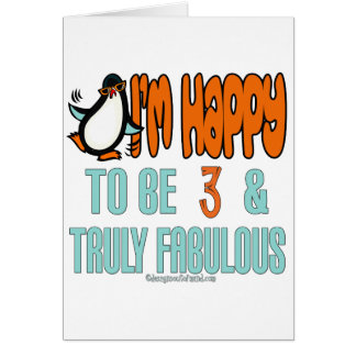 Penguin Happy at 3 Card