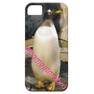 Penguin Hashtag #comeatmebro iPhone 5/5S Case