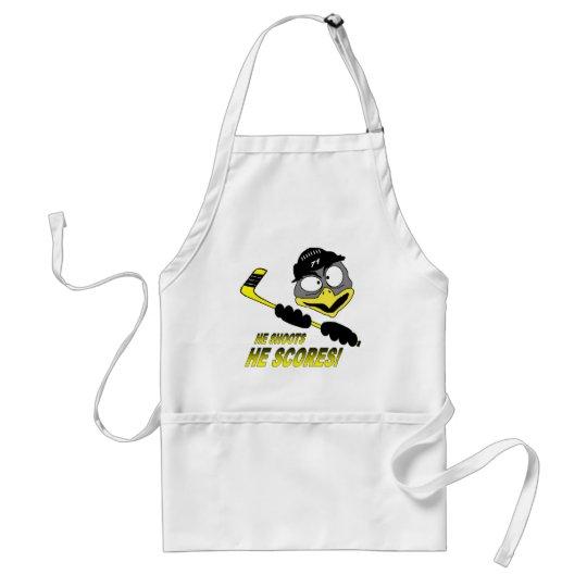 Penguin Hockey Apron