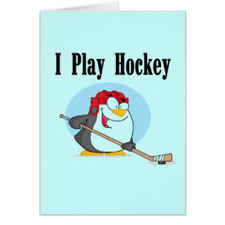 Penguin Hockey Tshirts and Gifts Card