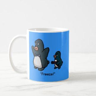 Penguin Hold Up! Coffee Mug