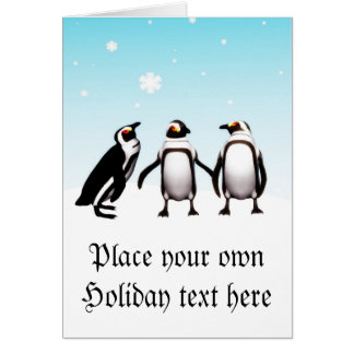 Penguin Holiday card