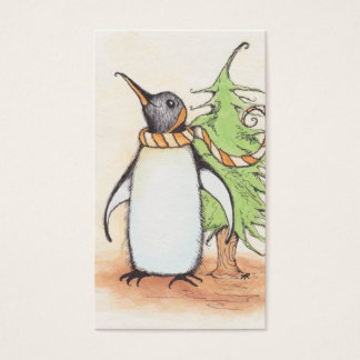 Penguin Holiday Gift Tags