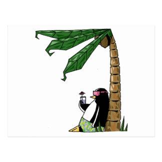 Penguin Holiday Postcard
